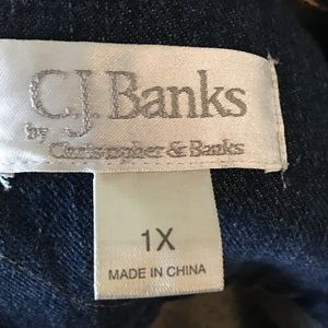 This is a nice Cj Banks decorated Jean Jacket